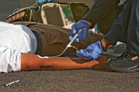 When an overdose patient is merely disoriented or mildly decreased in alertness but able to maintain an airway, administration of naloxone can precipitate the unnecessary onset of acute withdrawal.
