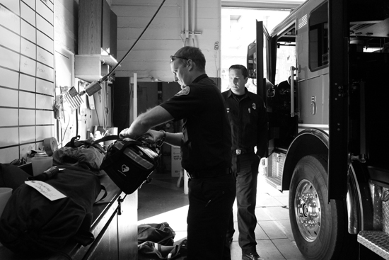 PTSD is a common issue for paramedics and firefighters