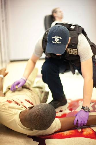 EMS hemorrhage control