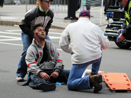 EMS leveraging bystanders as medical force multipliers during MCIs