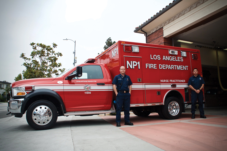 Nurse Practitioner Response Unit Launched in Los Angeles