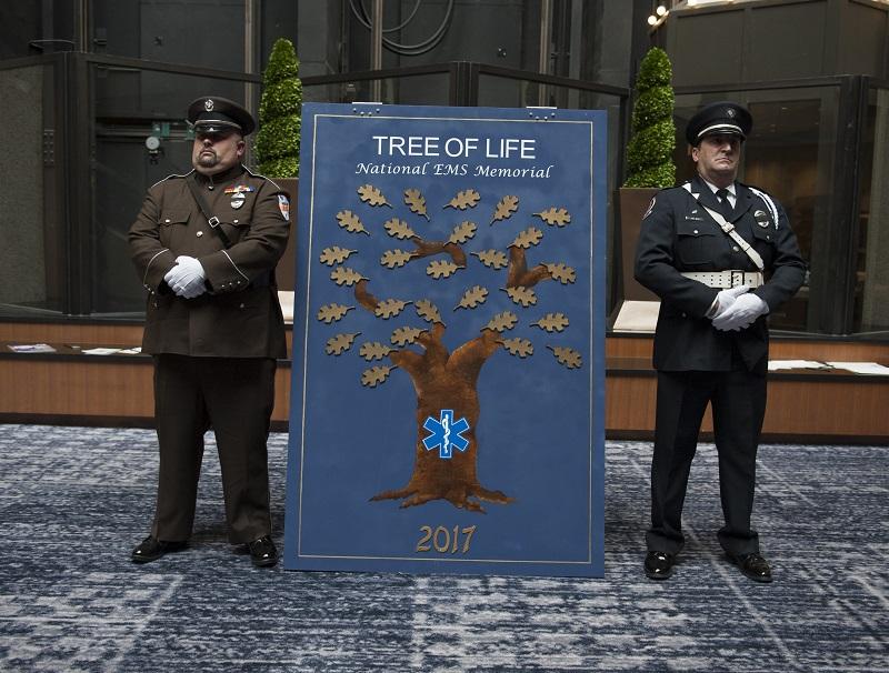 The 2018 National EMS Memorial Service.