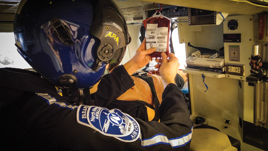 Implementing Protocols to Administer Blood Products in the Prehospital Setting
