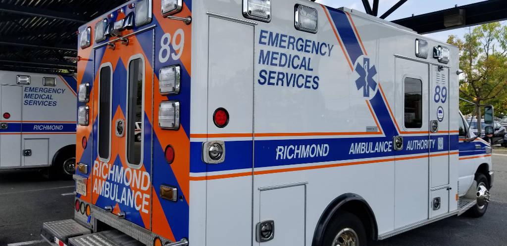 A Richmond Ambulance Authority ambulance.