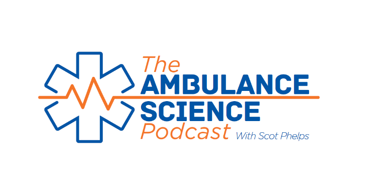 Ambulance Science Podcast logo