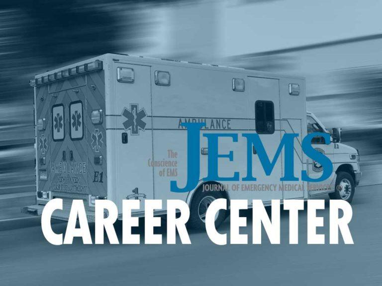 Paramedic Jobs: Week of September 20, 2021