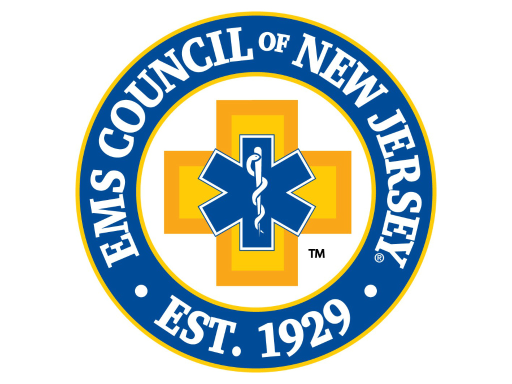 The logo of the EMS Council of New Jersey