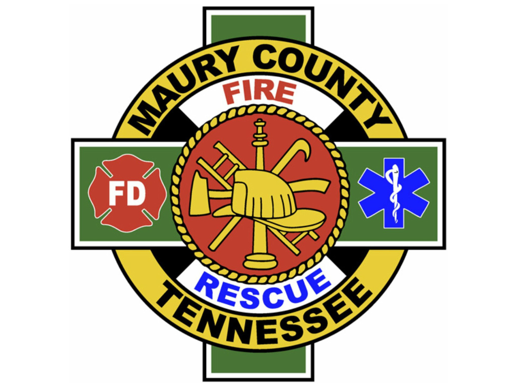 Maury County Fire Department Shield
