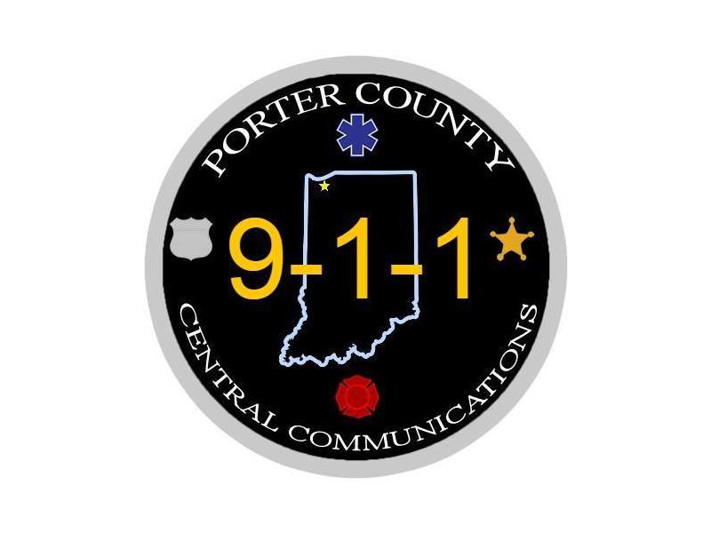 Porter County Central Communications (911) logo