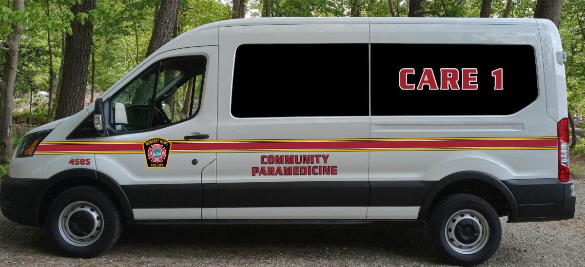 The The Community Assistance Response program van.
