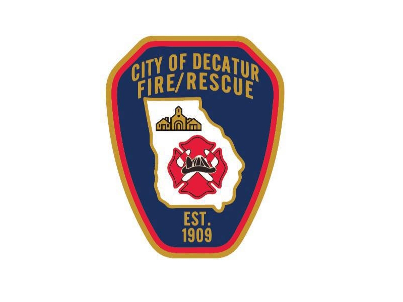 City of Decatur Fire and Rescue shield