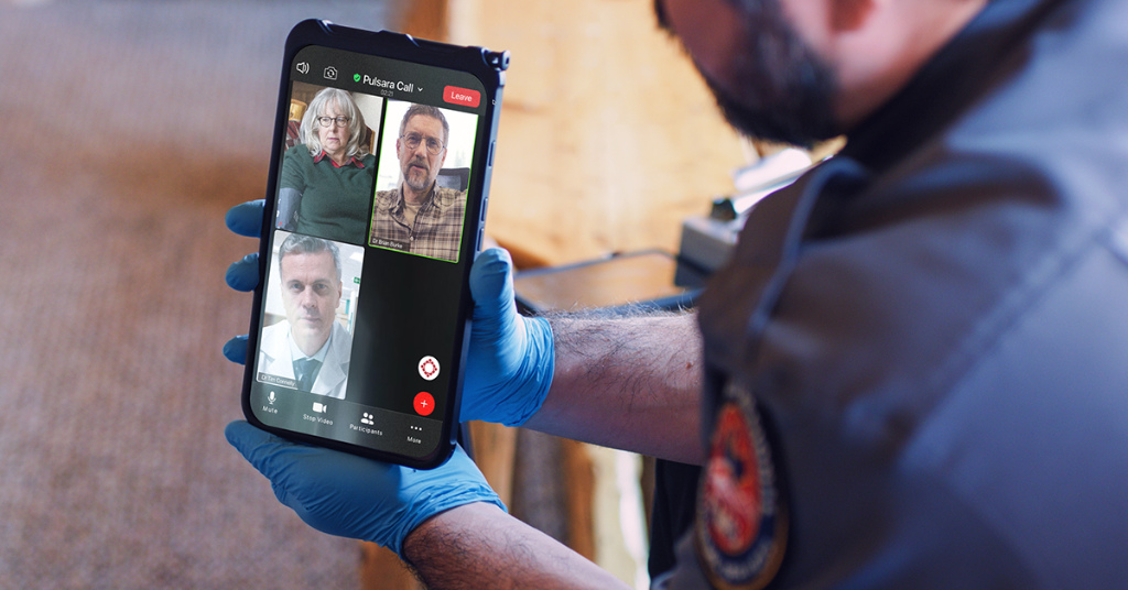 Teller County, CO develops a first-of-its-kind telehealth program using Pulsara as the backbone for rural health communications.