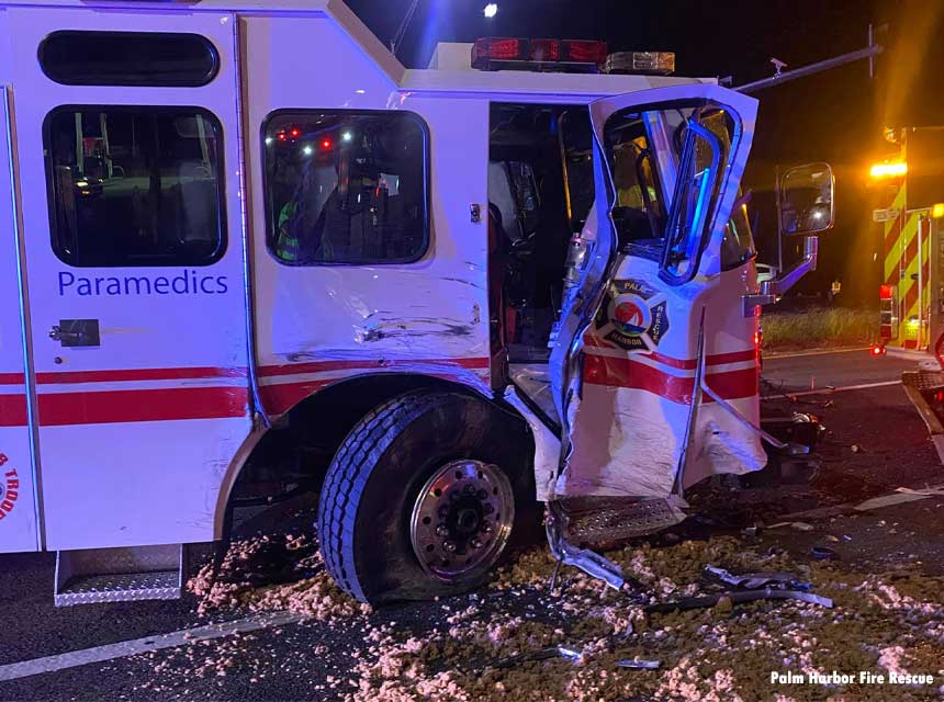 Firefighter Struck at FL Crash Scene; One Dead