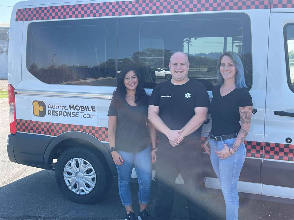 The city of Aurora officially launched the Aurora Mobile Response Team.
