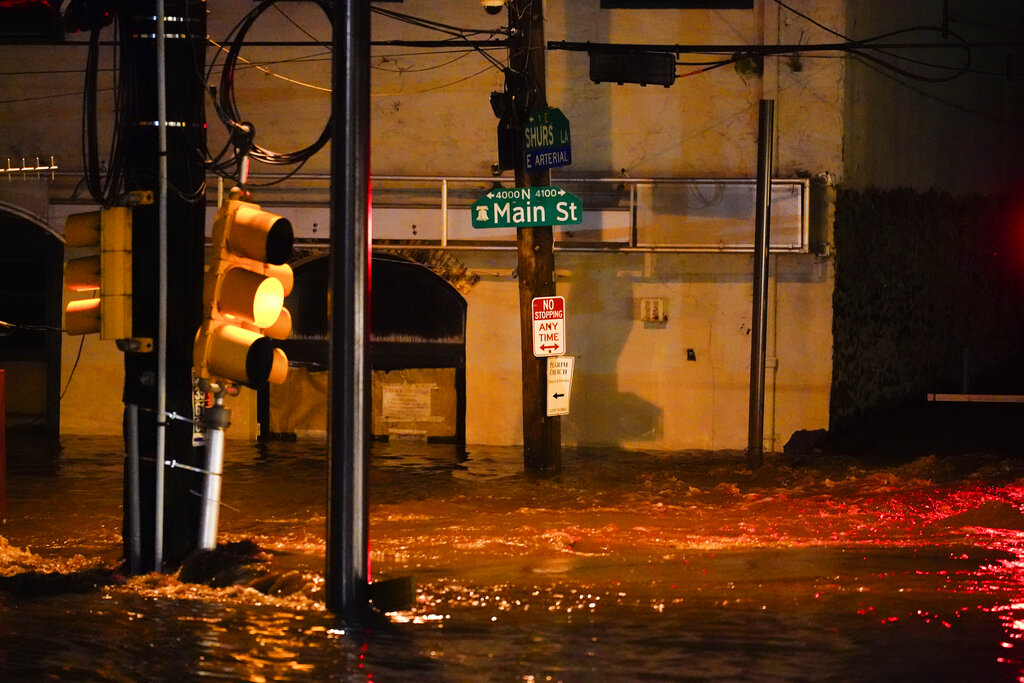 Flooding in Philly