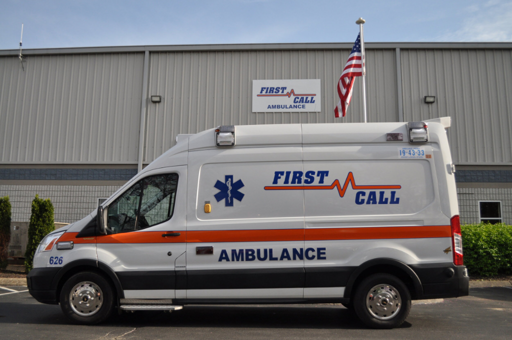 A First Call ambulance