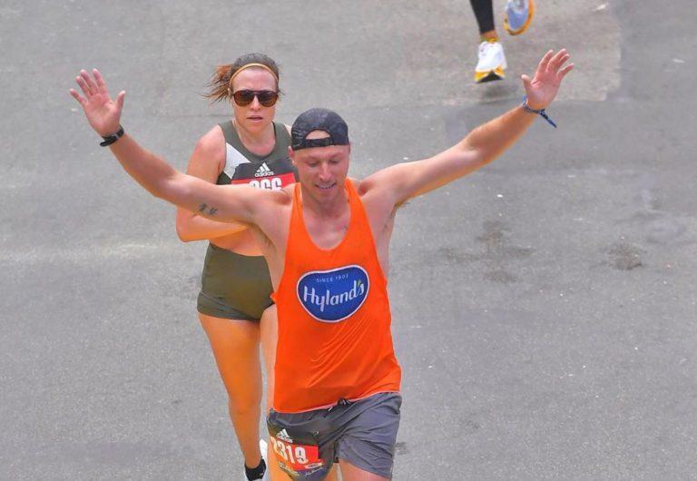 OR Firefighter-Paramedic Running the Boston Marathon Helps Save Life of Runner